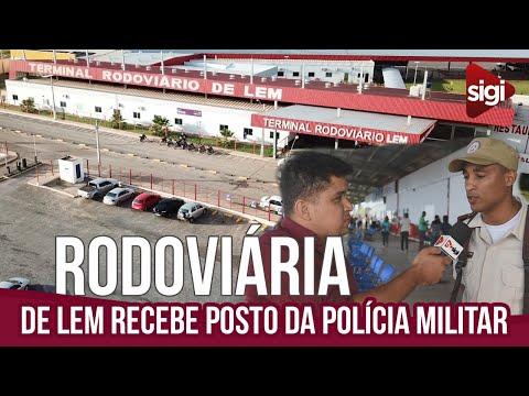 Segurança: terminal rodoviário ganha posto da Polícia Militar no Oeste da Bahia. Vídeo