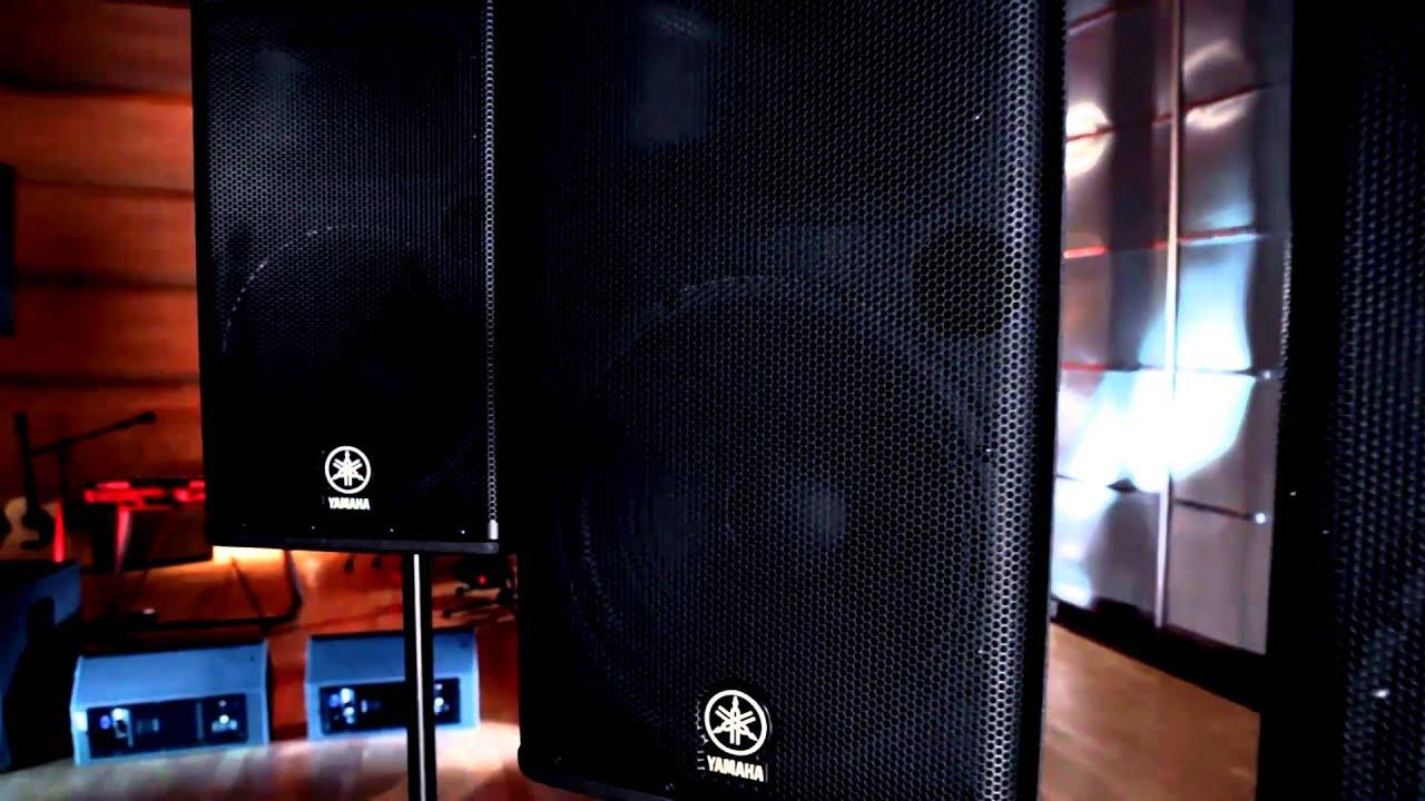 PA Speakers | Yamaha Music London