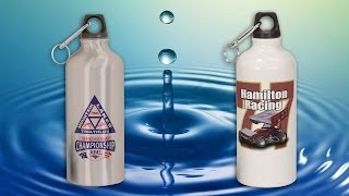 How To Sublimate Aluminum Water Bottles