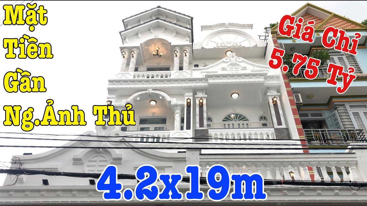 Bán Nhà Quận 12| Mặt Tiền Gần Nguyễn Ảnh Thủ P.Hiệp Thành Kinh Doanh Mua Bán Nhộn Nhịp, Giá Mềm