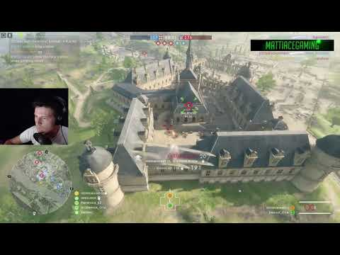 Battlefield 1 - Attack plane - That ended badly