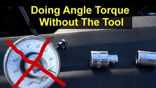 How to angle degree torque cheat without a special tool - VOTD