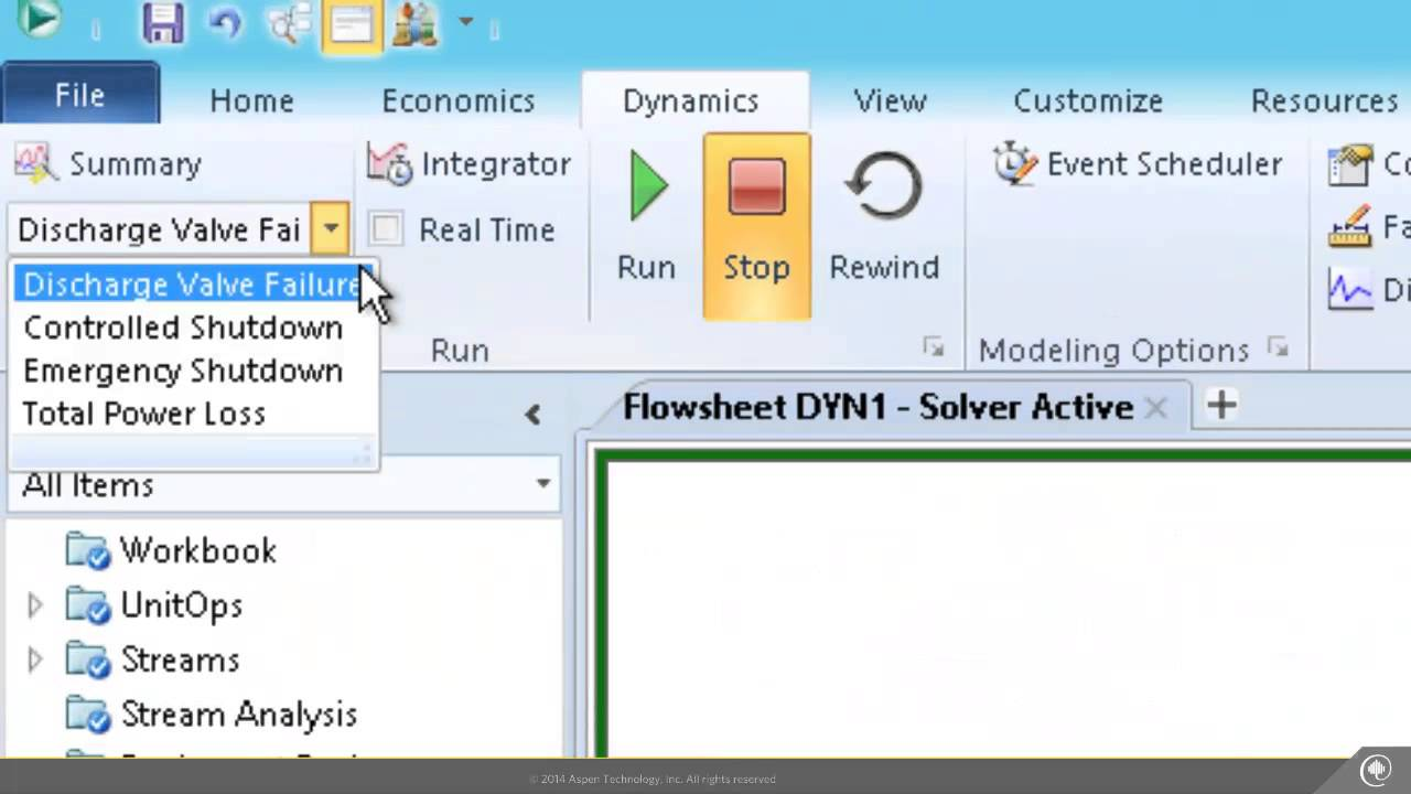 Aspen HYSYS V8 6 - Activated Dynamics for Compressor Surge
