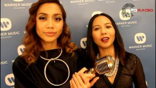 Warner Music Malaysia proudly presents two more Malaysian female rappers : www.aforadio.com