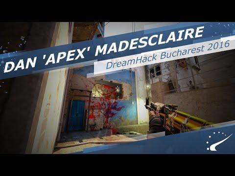 Dan 'apEX' Madesclaire highlights at DreamHack ZOWIE Open Bucharest 2016
