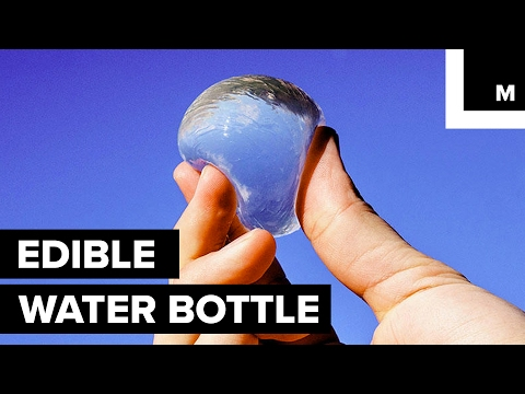 Edible Water Bottle !
