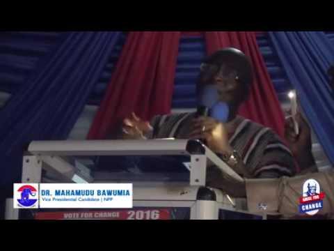 UDS (Nyankpala Campus)  embraces Dr Bawumia