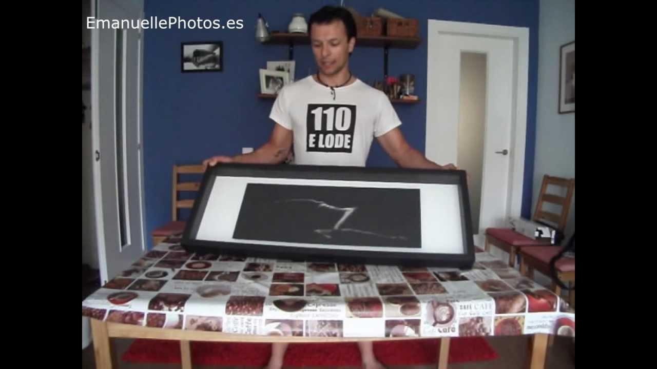 Como construir un marco para tu exposici n fotogr fica - Como hacer un marco de fotos a mano ...
