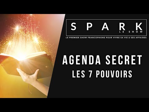 Agenda secret - les 7 pouvoirs - Spark le Show I Franck Nicolas