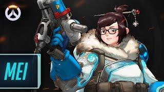 Os Heróis de Overwatch – Mei