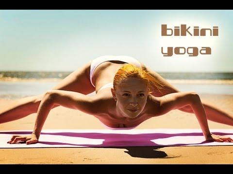 BIKINI YOGA WORKOUT   SUPER POWER STRETCH   BEACH BODY