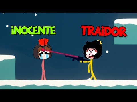ELTROLLINO ME TRAICIONA EN STICK MAN FIGHT 😱 MOMENTOS DIVERTIDOS en MURDER MYSTERY 😂