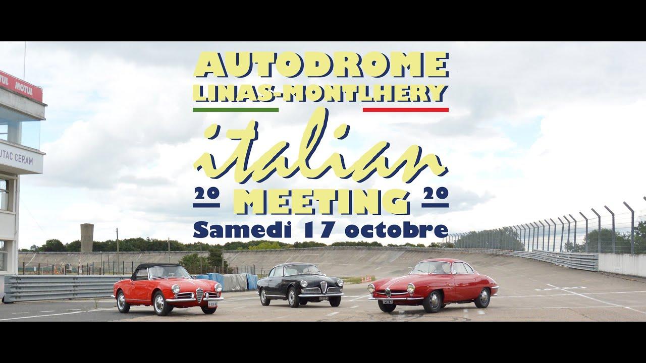 110 ans Alfa, 110 Alfa Classiques à Montlhéry - Autodrome Italian Meeting  2020 - YouTube