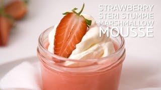 Strawberry Steri Stumpie Marshmallow Mousse
