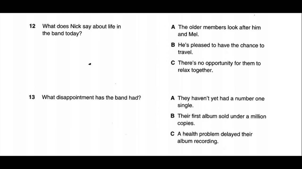 Study English online (B1)  Preliminary English Test (PET) Listening Book 1  : Test 1 part 2