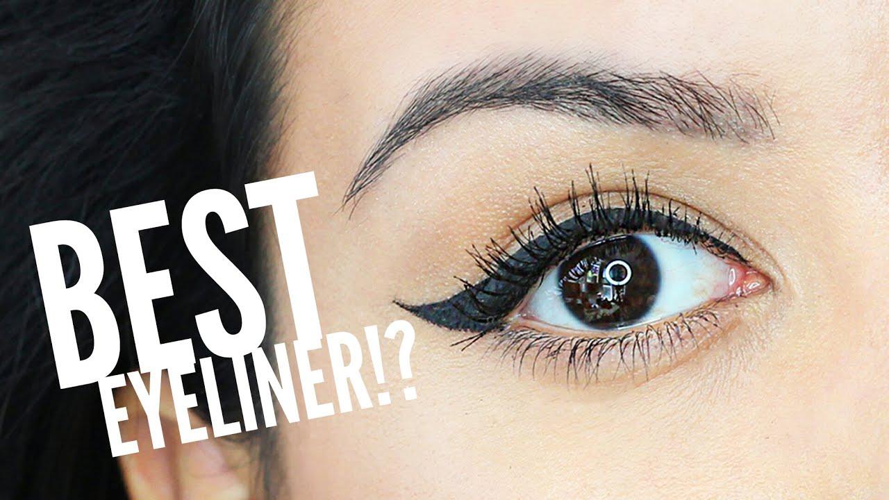 Best Drugstore Liquid Eyeliner? | Makeup - YouTube