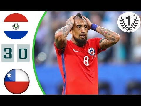Paraguay vs Chile 0:3 All Goals , Highlights 31 August 2017