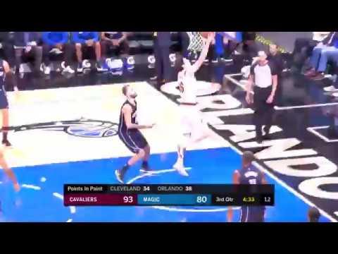 Asist LeBron'dan Basket Cedi Osman'dan Orlando Magic -Cleveland Cavaliers 06.01.2018