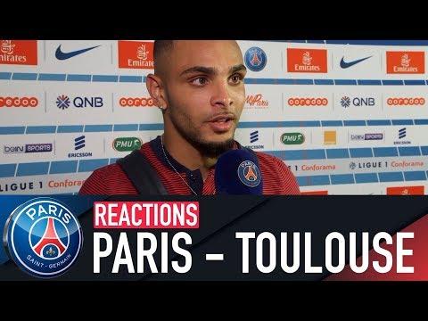 REACTIONS : PARIS SAINT-GERMAIN vs TOULOUSE FC