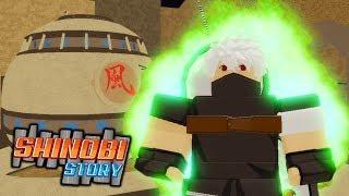 OPENING MY FIRST GATE! | Shinobi Story | EP 4 (Roblox Naruto Roleplay)