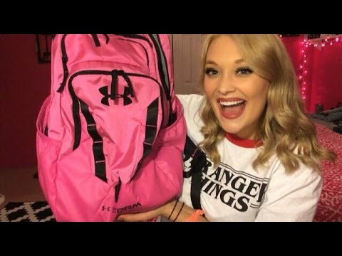 WHAT'S IN MY BACKPACK FOR COLLEGE // RAD TECH TO BE || Logan Lynn