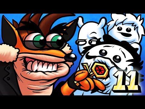 Oney Plays Crash Bandicoot Warped WITH FRIENDS - EP 11 - FINALE  (Crash Bandicoot 3)