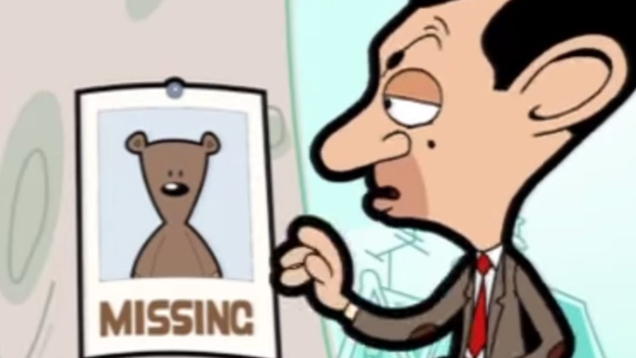 missing teddy mr bean official cartoon youtube