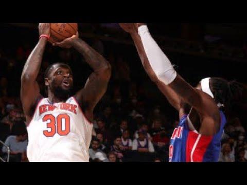 Detroit Pistons vs New York Knicks Full Game Highlights | October 13 | 2022 NBA Preseason