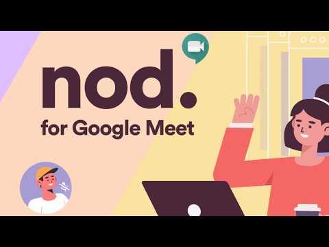 Nod - Reactions for Google Meet