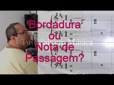 Bordadura ou Nota de Passagem? - Tutoriais em Música