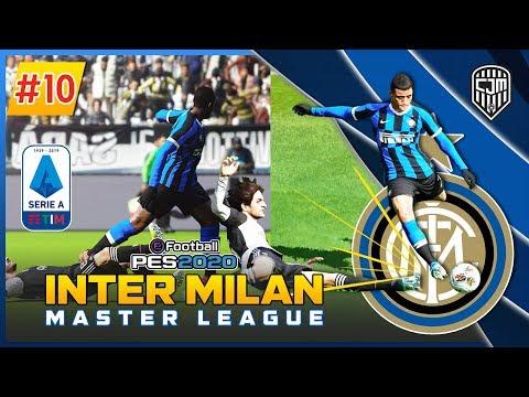 PES 2020 Indonesia Inter Master League: Derby D'Italia Panas! Juventus Vs Inter Milan #10