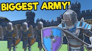 We Built the Biggest Armies and Broke the Game! - Village Feud Multiplayer Gameplay