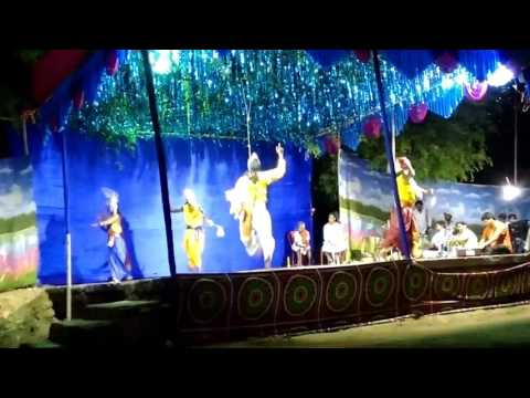 Chhau dance at bhanderisai - seraikela part 4