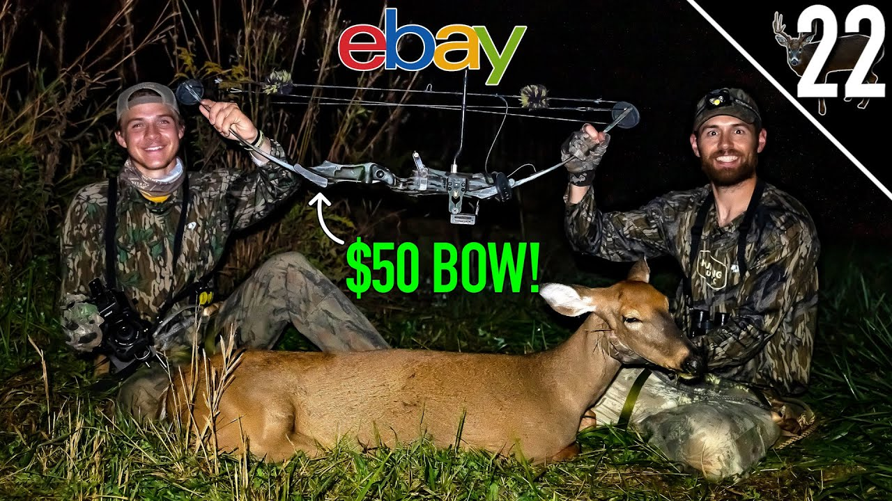 Download DEER HUNTING with $50 BOW!! - (USED BOW CHALLENGE!)