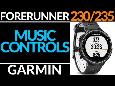 Garmin Forerunner 230 / 235 Music Control Tutorial