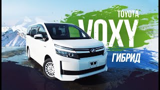 Toyota Voxy (ZWR80) ГИБРИД! Хватает ли большому минивэну 1800сс?  Батарея живая??