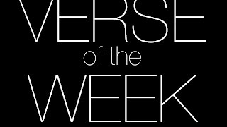 Verse of the Week: Episode 1 feat. Cryptic One