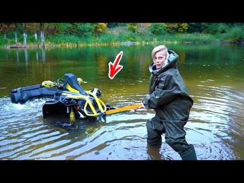УТОПИЛ свой квадрик!!!  DROWNED my ATV !!!! Докатался...