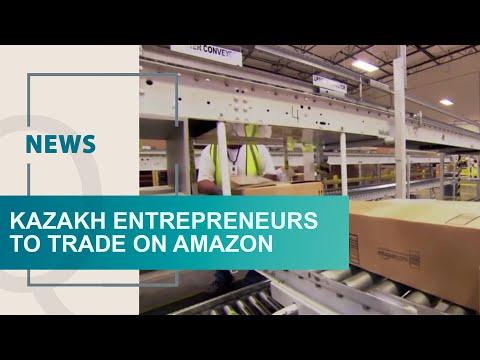 Kazakh entrepreneurs to trade on Amazon. Qazaq TV News