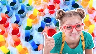 World's LONGEST Walking Rainbow 🌈  | Cool Science Projects ft. Kalium