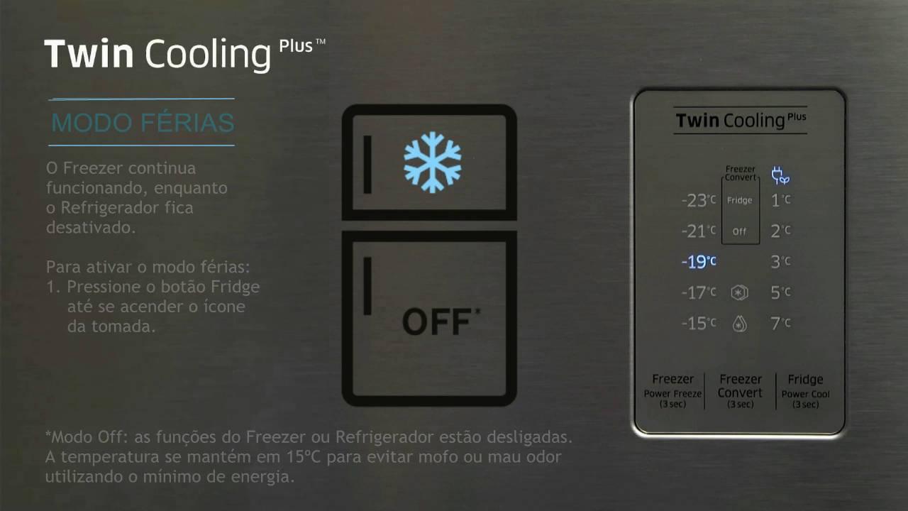 Geladeira Refrigerador Frost Free Duplex Samsung Twin