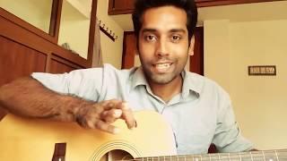 Gambar cover Mounam Chorum Neram Guitar  Version (Om Shanti Oshana)