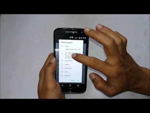 How to set custom ringtone in Moto G4 and Moto G4 Plus