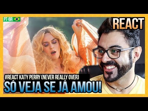 REAGINDO a Katy Perry - Never Really Over