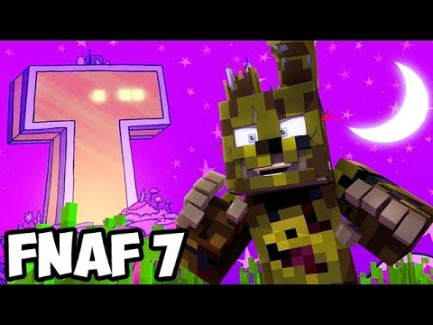 Minecraft Five Nights At Freddy's With Teen Titans #4! (Minecraft FNAF Roleplay)