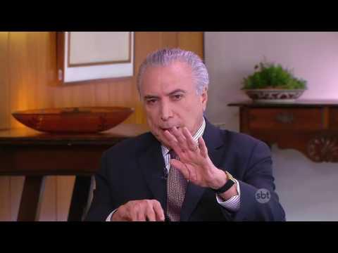 Exclusivo: Kennedy Alencar entrevista o presidente Michel Temer