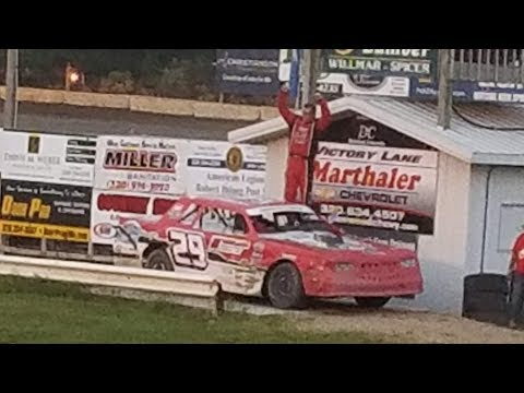 Jeff Crouse Racing. 🏁🏁 Feature win at KRA Speedway.🏁🏁   Street Stock.  6/21/18.  GOPRO