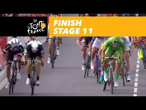 Finish - Stage 11 - Tour de France 2017