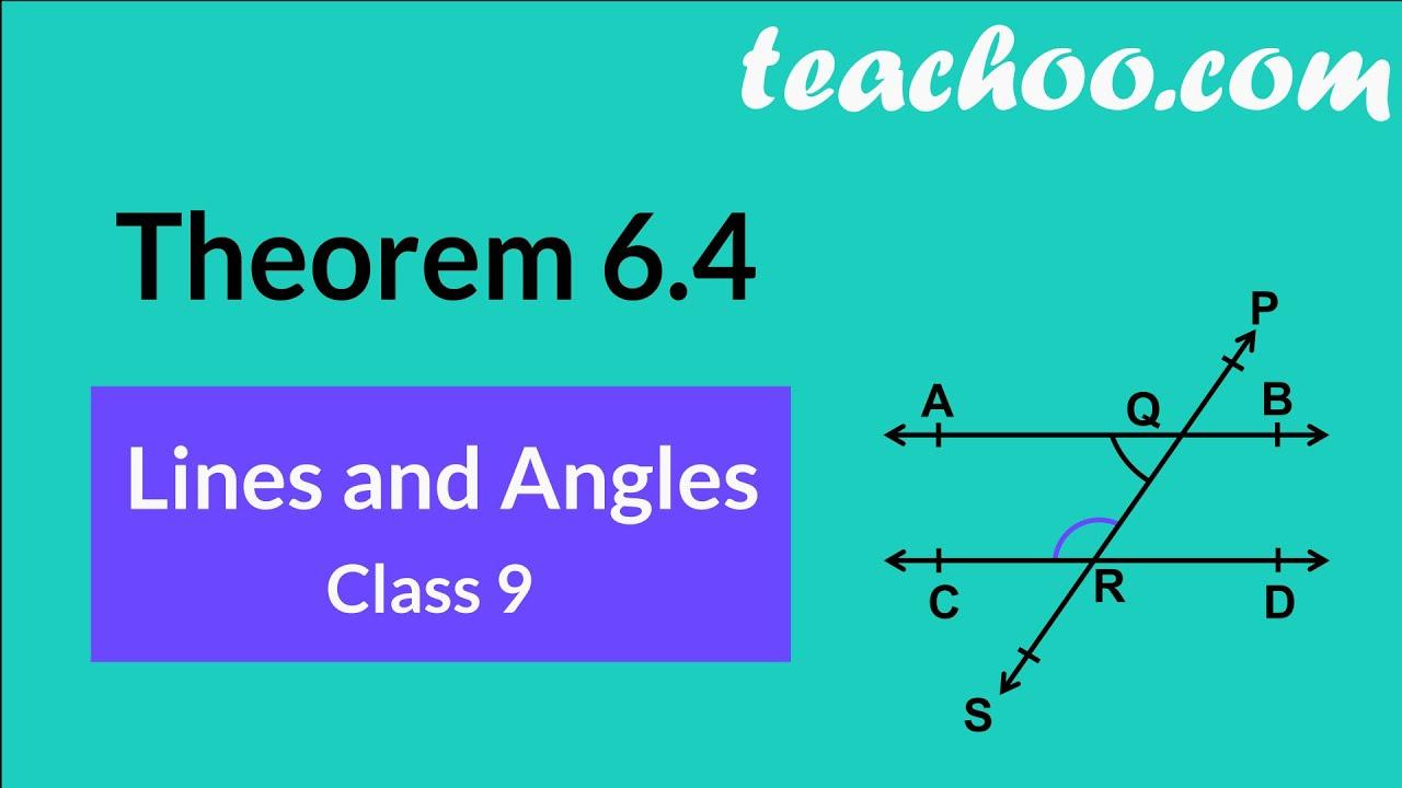 Consecutive Interior Angles Theorem