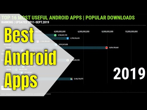 TOP 16 MOST USEFUL ANDROID APPS POPULAR DOWNLOADS   RANKING 2011-2019